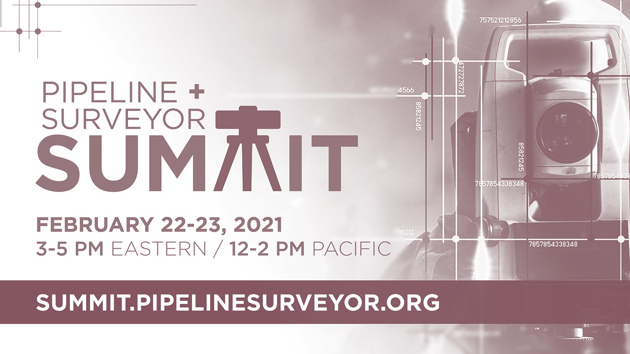 Pipeline + Surveyor Summit 2021